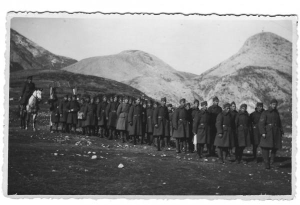 Από την επιστράτευση μετά την κήρυξη του πολέμου στους Ιταλούς